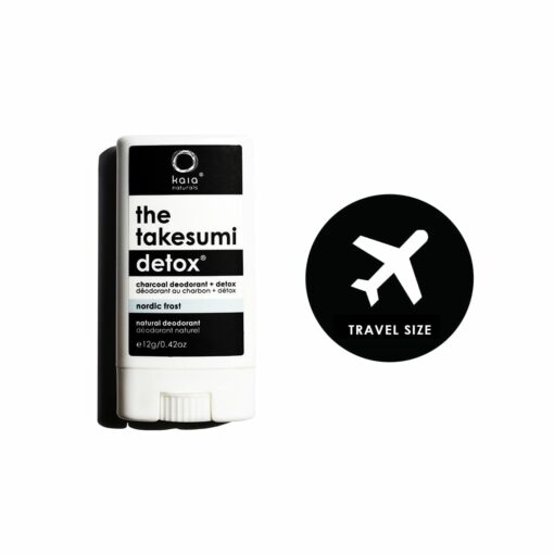 nordic frost charcoal deodorant travel size - kaia naturals