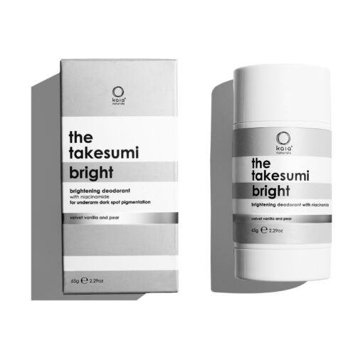 takesumi bright brightening deodorant with carton on white background