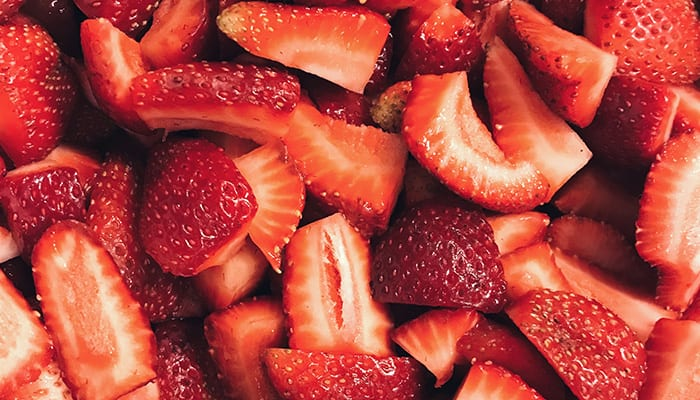 strawberries to whiten teeth - kaia naturals