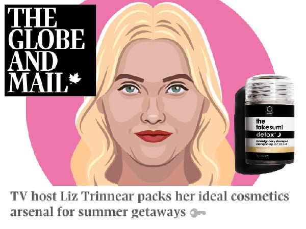 The Globe and Mail - TV host Liz Trinnear packs her ideal cosmetics arsenal for summer