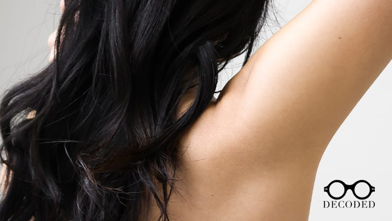 underarm hyperpigmentation