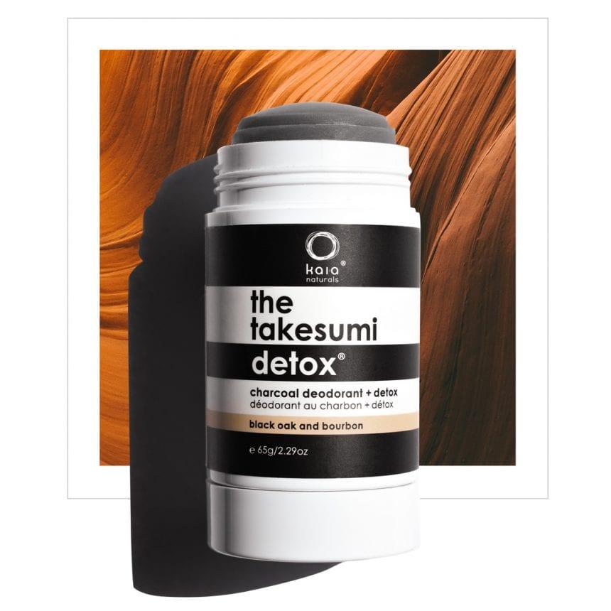 black oak and bourbon charcoal deodorant - kaia naturals
