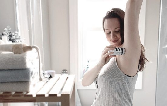 Armpit detox Underarm deodorant