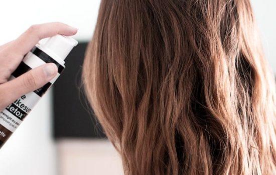 Tip on washing hair less
