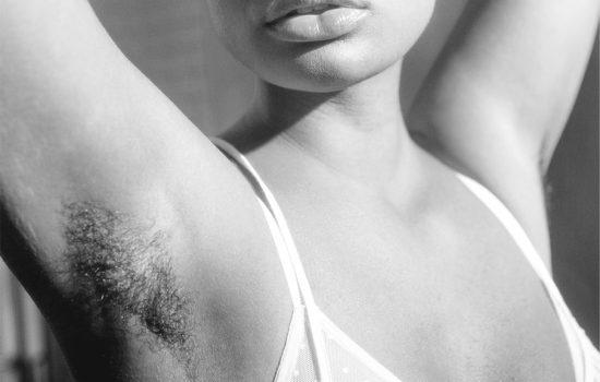women showcasing armpit hair
