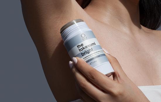 brightening deodorant with niacinamide