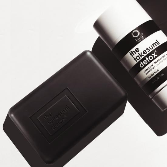 underarm bar and the takesumi detox charcoal deodorant
