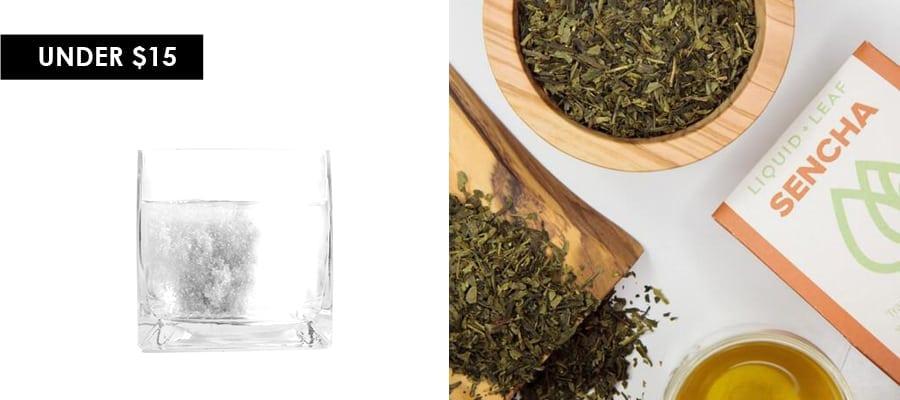 kaia naturals detox hot bath and liquid and leaf sencha green tea feature image for under $15