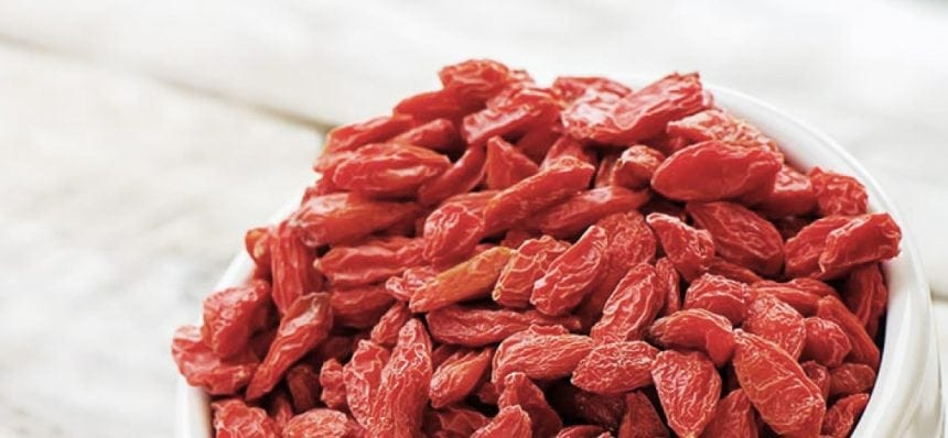 goji berries recipe