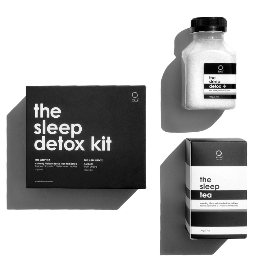 the sleep detox kit - kaia naturals